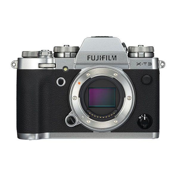 Câmera Fujifilm X-T3 Prata (corpo)