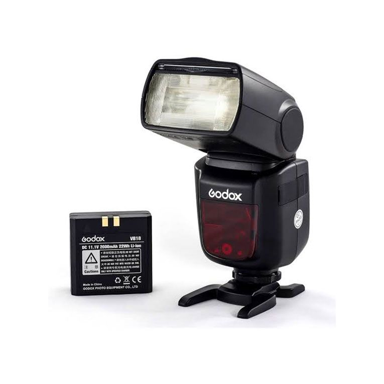 Flash a Bateria Godox V860 II | Para Canon