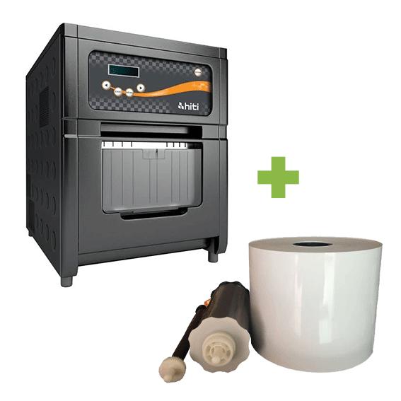 Impressora Fotográfica Térmica Hiti P720L com Ribbon 1000 Fotos 10x15
