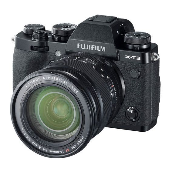 Kit Câmera Fujifilm X-T3 + Lente Fujifilm XF16-80mm f/4 R OIS WR