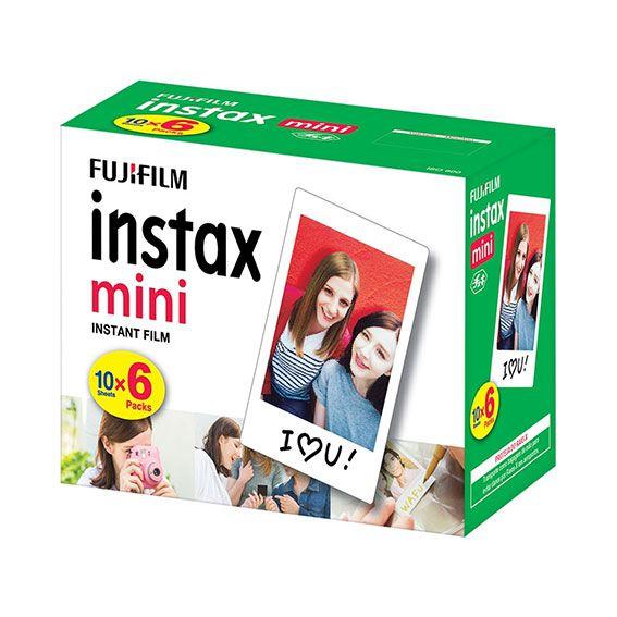 Kit Filme Fujifilm Instax Mini Branco 60 Fotos