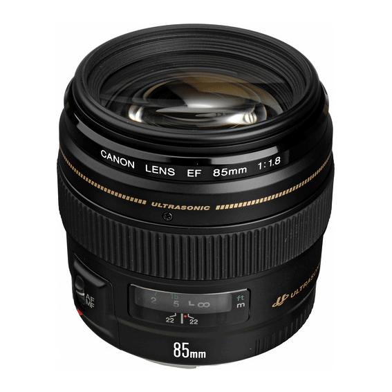 Lente Canon 85mm f/1.8 USM