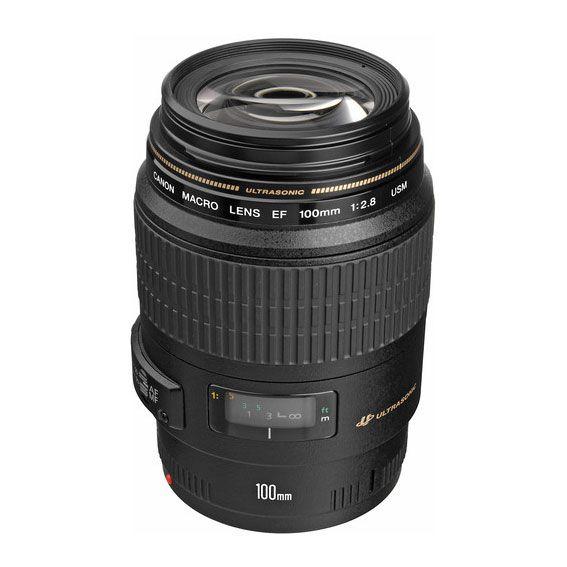 Lente Canon EF 100mm f2.8 Macro USM