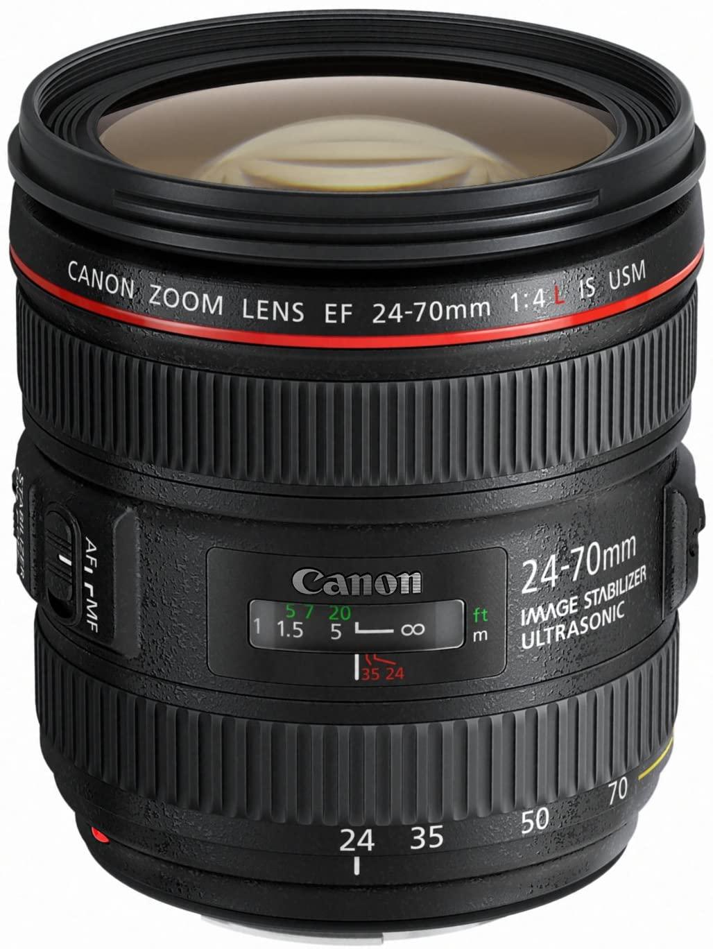 Lente Canon EF 24-70mm f/4 IS USM