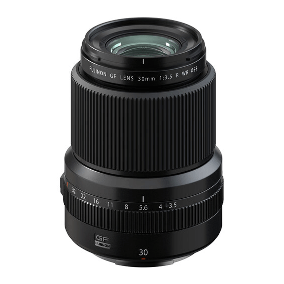 Lente Fujifilm GF 30mm f/3.5 R WR