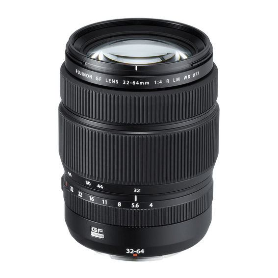 Lente Fujifilm GF 32-64mm f/4 R LM WR