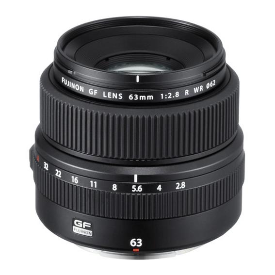 Lente Fujifilm GF 63mm F/2.8 R WR