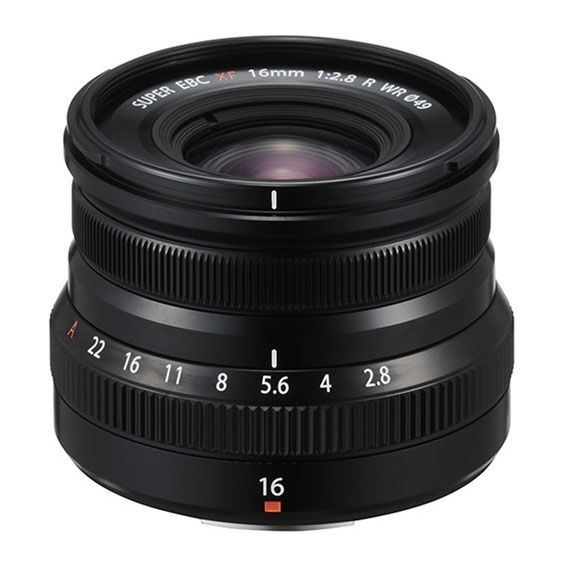 Lente Fujifilm XF16MM f/2.8 R | Preta