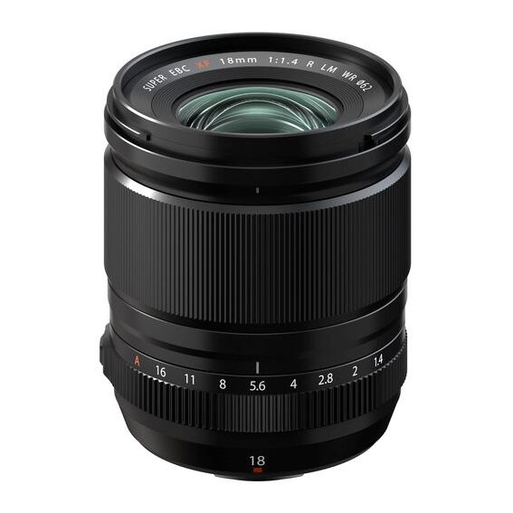 Lente Fujifilm XF18MM F/1.4 R LM WR