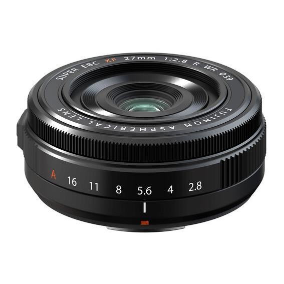 Lente Fujifilm XF27mm f/2.8 II R WR