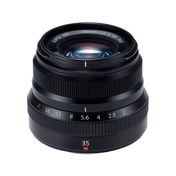 Lente Fujifilm XF35MM f/2 WR | Cor: Preto