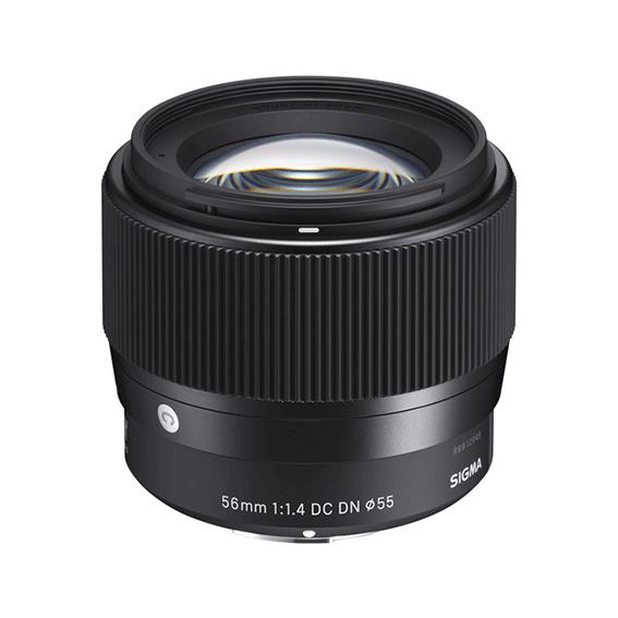 Lente Sigma 56mm f/1.4 DC DN Contemporary para Sony E