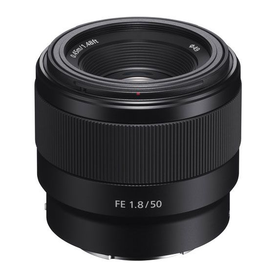 Lente Sony FE 50mm f1.8   SEL50F18F