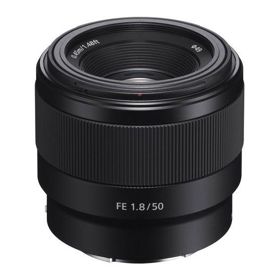 Lente Sony FE 50mm f1.8 | SEL50F18F