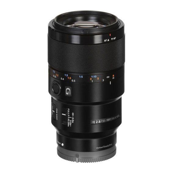Lente Sony FE 90mm f2.8 Macro G OSS   SEL90M28G