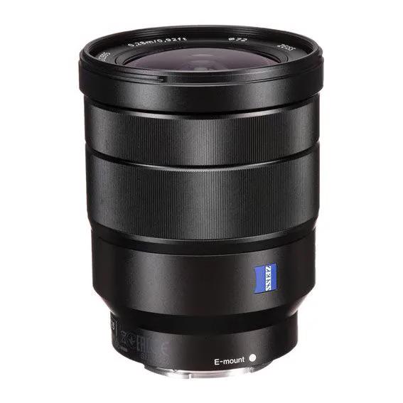 Lente Sony Vario-Tessar T* FE 16-35mm f4 Zeiss OSS Semi-Novo