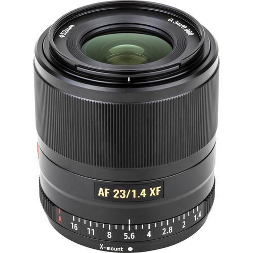 Lente Viltrox AF 23mm F/1.4 XF para Fujifilm