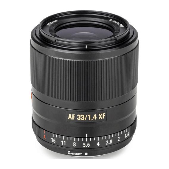 Lente Viltrox AF 33mm f/1.4 XF para Fujifilm X