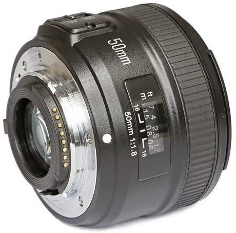 Lente Youngnuo 50mm f/1.8 p/ Nikon