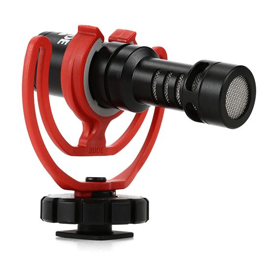 Microfone Shotgun Rode VideoMicro para Câmeras e Gravadores