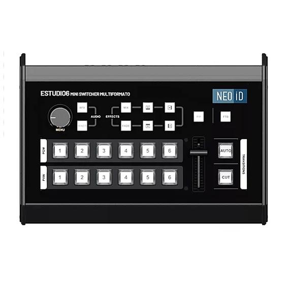 Mini Switcher de Vídeo NEOiD Estúdio 6