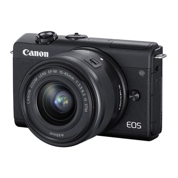 Mirrorless Canon EOS M200 Kit com Lente 15-45mm