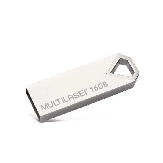 Pen Drive Multilaser Diamond 16GB USB 2.0