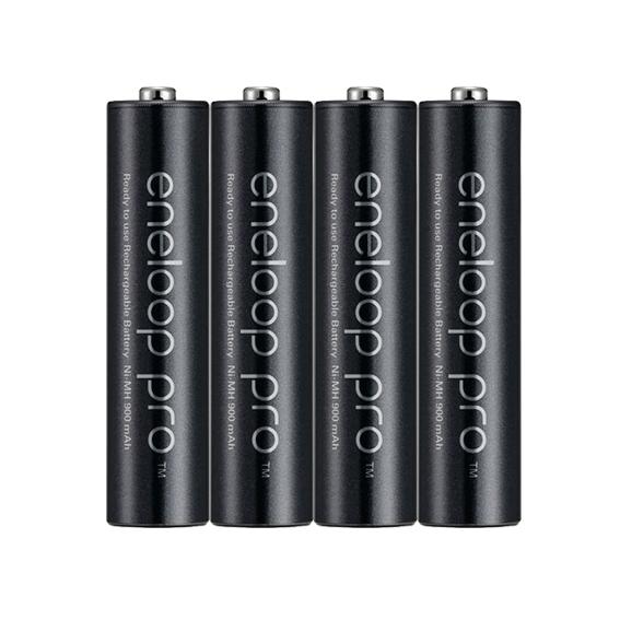 Pilhas Recarregáveis Eneloop Pro AA 2550 mAh - 4 Unidades