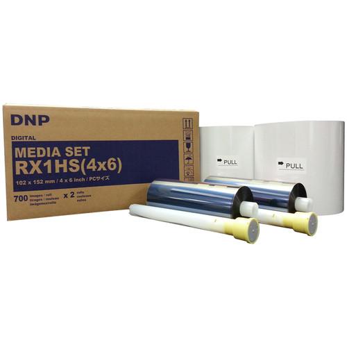 Ribbon e Papel DNP   1400 Impressões 10x15
