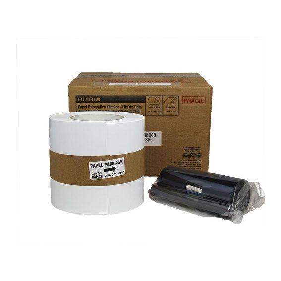 Ribbon e Papel Fujifilm ASK300 | 400 Impressões 10x15