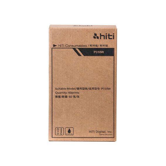 Ribbon e Papel Hiti P310W | 60 Impressões 10x15
