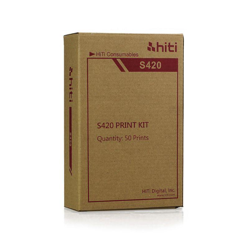 Ribbon e Papel Hiti S420 | 50 Impressões 10x15 (6x4)