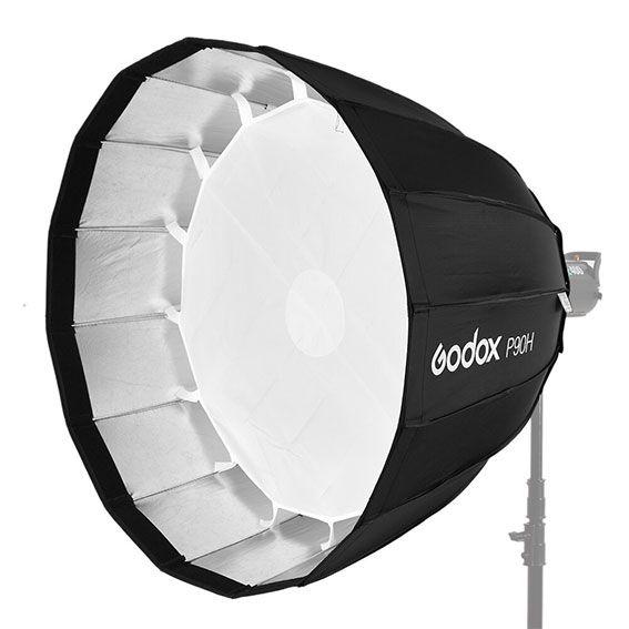 Softbox Parabólico Godox P90H com Bowens