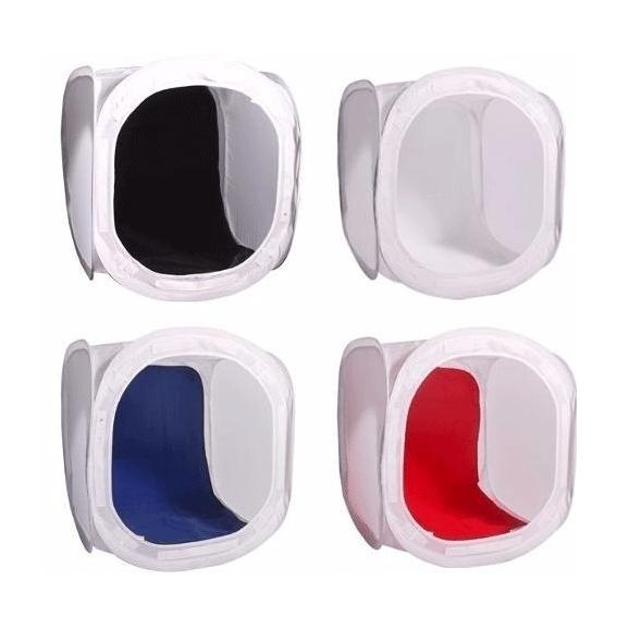 Tenda Fotográfica 60x60 Mini Estúdio para Produtos E-commerce Greika CI-60