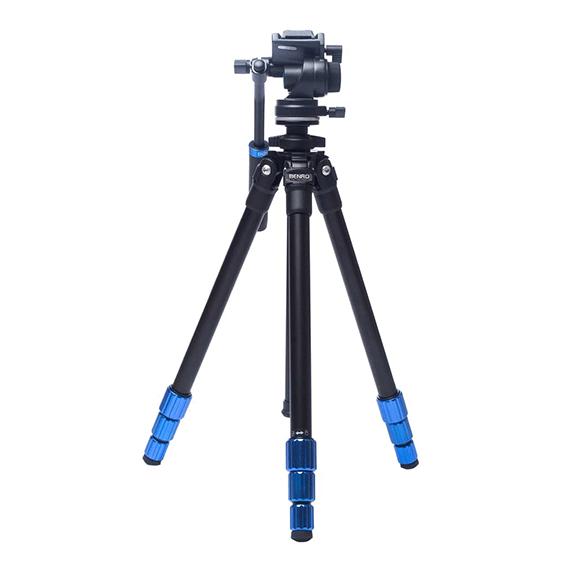 Tripé de Câmera Benro TSL08AS2CSH Slim em Mg-Alumínio