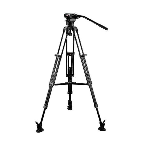 Tripé de Câmera Profissional E-Image EG03A2
