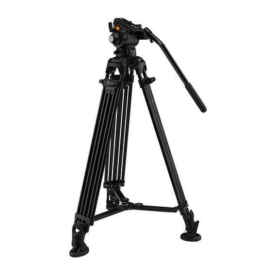 Tripé de Câmera Profissional E-Image EG03AA