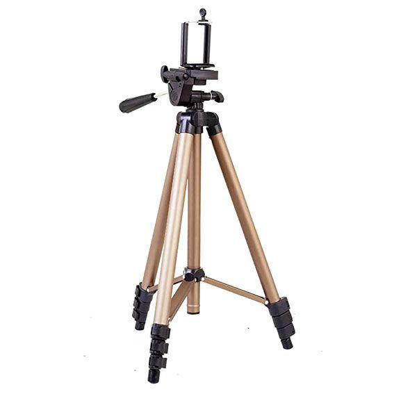 Tripé Weifeng WT-3130 para Câmera e Celular 1,25m
