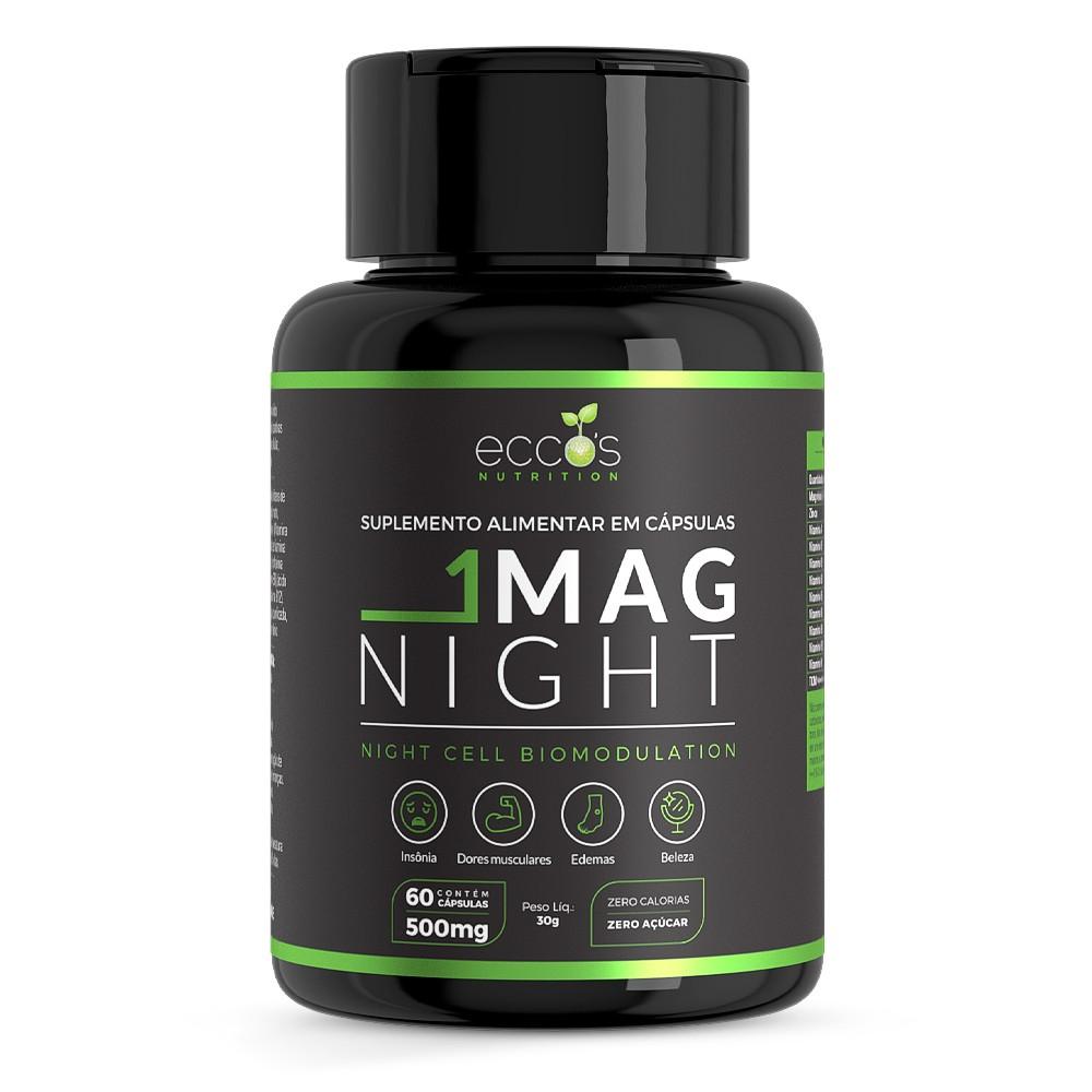 Uno Mag Night Frasco com 60 Cápsulas