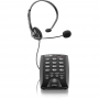 Headset RJ9 com Base Discadora HST-6000 - Elgin