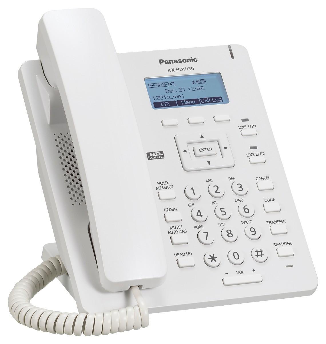 Aparelho Telefônico IP KX-HDV130  - Panasonic