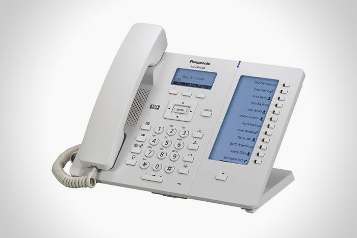 Aparelho Telefônico IP KX-HDV230 - Branco - Panasonic