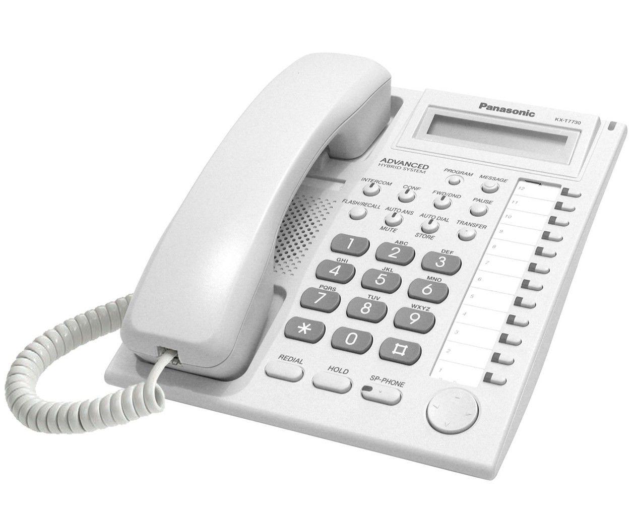 Aparelho Telefônico KX-7730X Branco - Panasonic