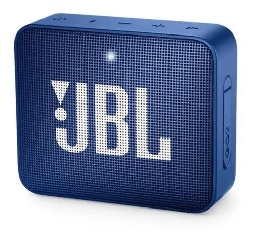Caixa de Som Bluetooth Portátil - JBL Go 2 Blue
