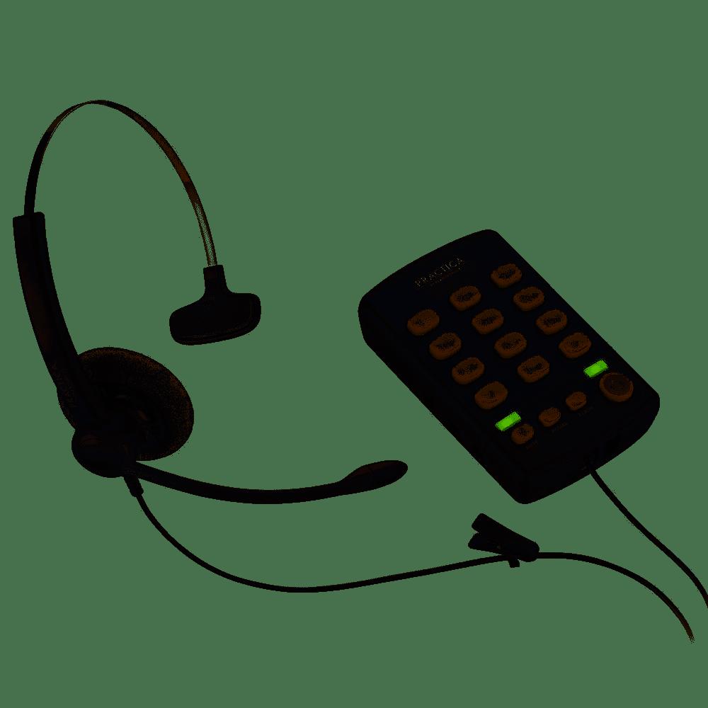Headset com Base Discadora Pratica T110 - Plantronics