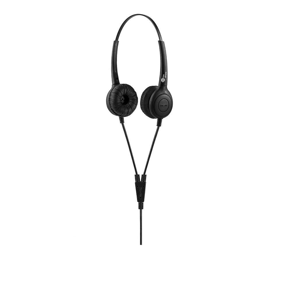 Headset P2 Biauricular FP 350 com Cancelador de Ruídos - TopUse