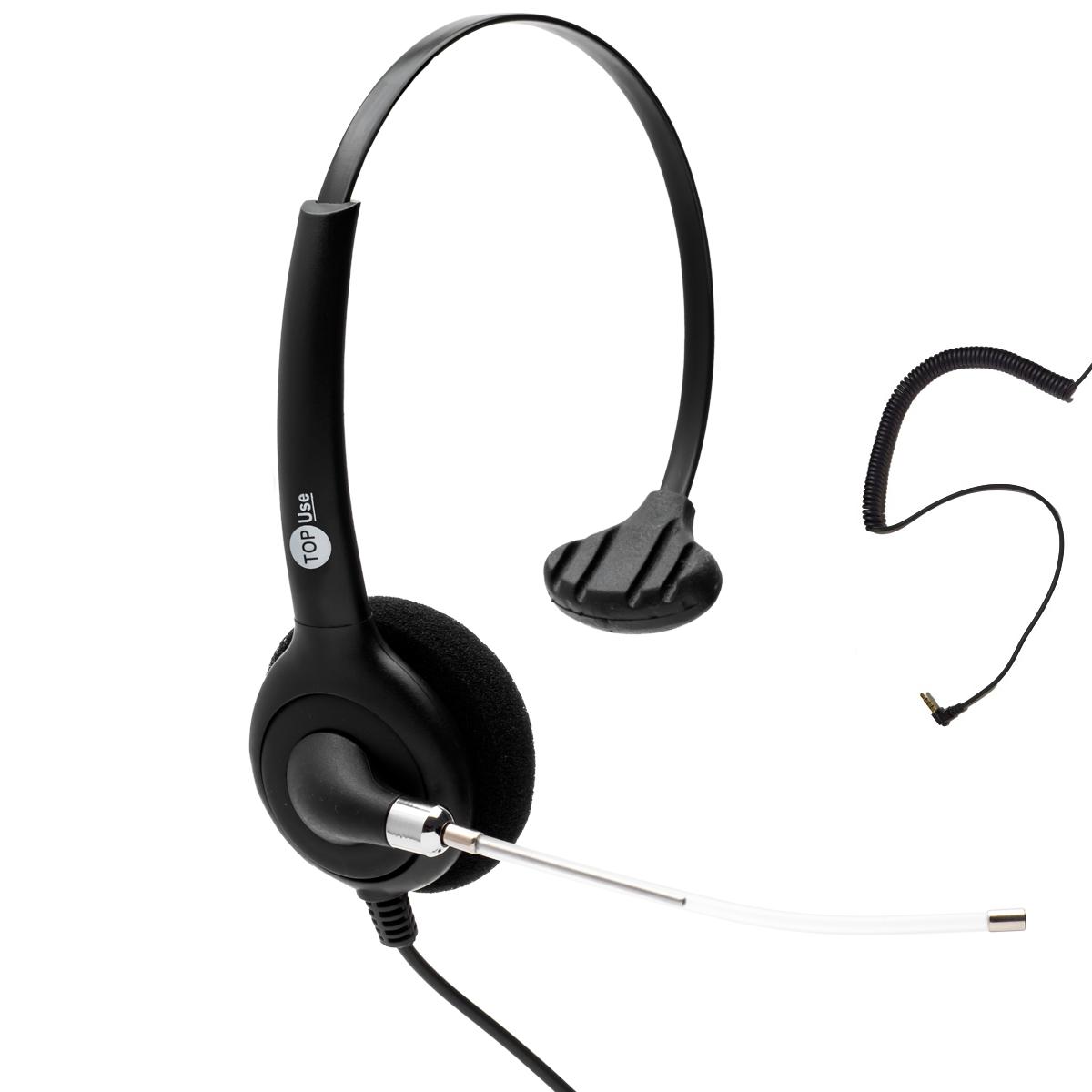 Headset P2 FP 360 com Cancelador de Ruídos - TopUse