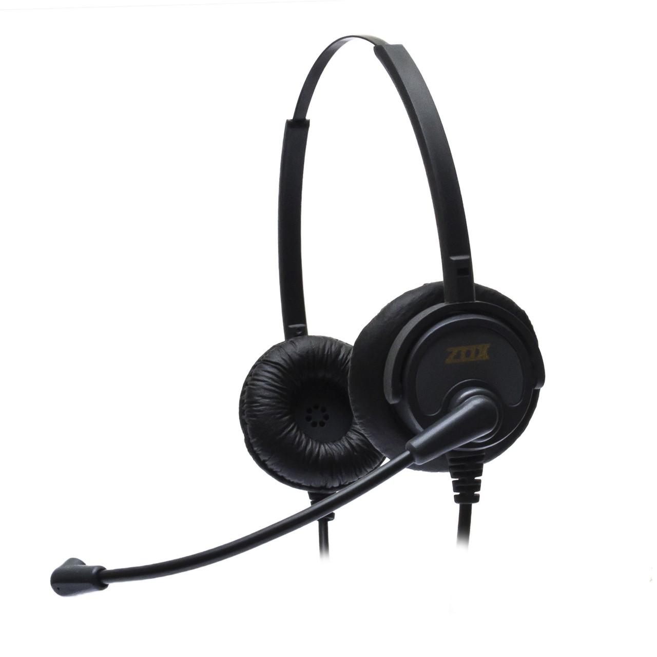 Headset RJ9 Biauricular HZ-30D - Zox
