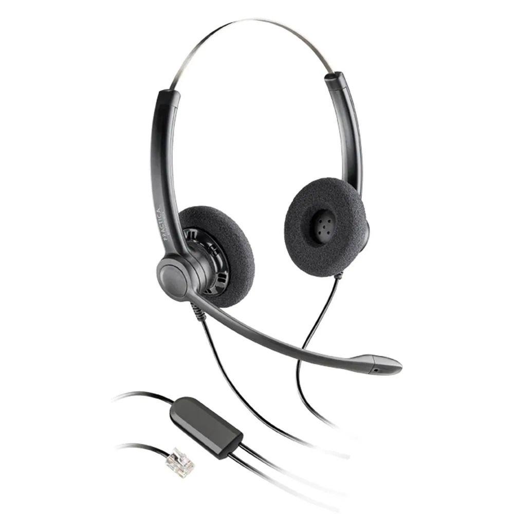 Headset RJ9 Practica SP12 Biauricular - Plantronics