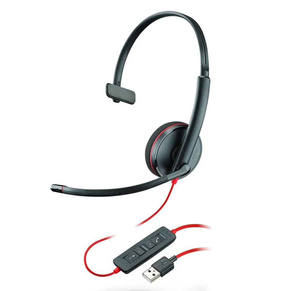 Headset USB Blackwire C3210 - Plantronics